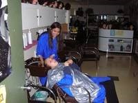 Student barbers
