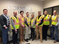 Visit to Corning Life Sciences