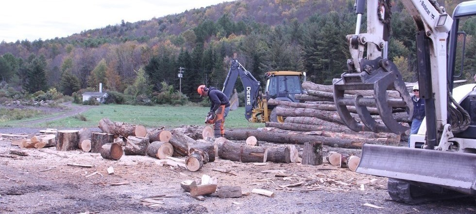 NRO Students Processing Lumber, NCOC