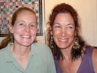 Kim Hall and Nancy Forstbauer